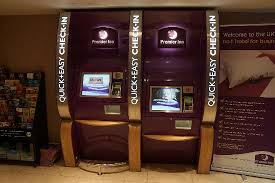 Vending Machines Edinburgh Magnificent Self Checkin Machines Picture Of Premier Inn Edinburgh City