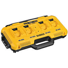 Dewalt Charger Yellow Light Multiport Simultaneous Fast Charger
