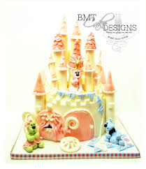 Whimsical Castle Cake Bmtcakedesigns By Bobie