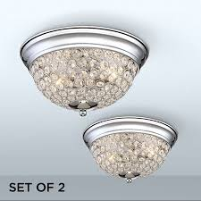 Possini euro lighting Glam Possini Euro Design Possini Euro Faith Chromecrystal Ceiling Lights Set Of Walmartcom Walmart Possini Euro Design Possini Euro Faith Chromecrystal Ceiling Lights