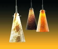 pendant light art glass lighting design house satin nickel lights fl