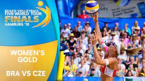 Women's Gold Medal: BRA vs. CZE | Beach Volleyball World Tour Finals  Hamburg 2018 - YouTube