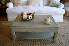 shabby chic gray coffee tables