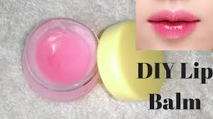 how to make lip balm at home for pink moisturized lips easy and simple diy you