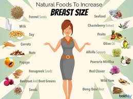 Natural Foods To Increase Breast Size Check This List Of 17