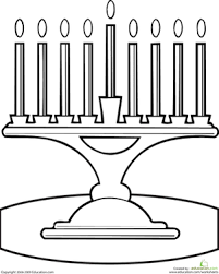 Menorah Coloring Page Hanukkah Pinterest Hanukkah Menorah And