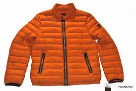 guess men s down orange jacket lightweight puffer winter coat 100 authentic obo