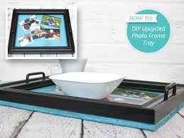 photo frame serving tray