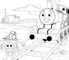 Thomas Train Coloring Page Free Train Coloring Pages And Coloring