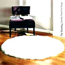 small fur rug faux rugs canada white designs large round