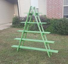 Craft Show Display Stands 100 ft Wooden Ladder Christmas Village Display Craft Show 46