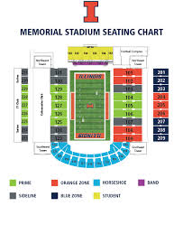Illinois Seating Chart Football Illinois Athletics 2019 Football Season Ticket Information