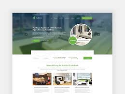 Real Estate Website Template Free Psd Template Psd Repo