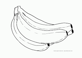Small Picture Banana Coloring Pages Print Coloring Home