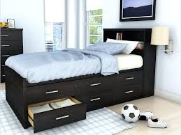 Twin Xl Bed Frame With Drawers Girls Regard To Storage Ideas 7 ...