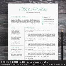 Creative Resume Template Creative Professional Resume Template For