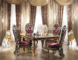 images of dining room furniture. Antik Gaya Italy Kekaisaran Furniture Ruang Makan, Hiasan Mewah Persegi Kuningan Dari Kayu Tipis Images Of Dining Room