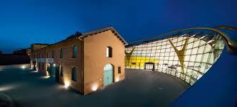 Ferrari world, abu dhabi 1. Enzo Ferrari Museum Werner Sobek