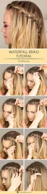 How Todo Hair Style best 25 waterfall braids ideas waterfall hair 2576 by wearticles.com