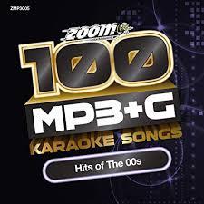 Amazon Uk Mp3 Chart Zoom Karaoke Mp3 G Disc 100 Songs Hits Of The 00s