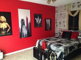Cool Red And Black Marilyn Monroe Bedroom 67 For Home Design Styles  Interior Ideas with Red And Black Marilyn Monroe Bedroom