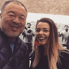 """Aimee Dawson on Twitter: """"A pleasure to meet @aiww today for an ..."""