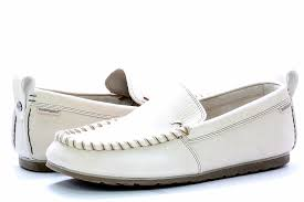 hush puppies men s sw surf off white leather slip on loafer shoes by hush puppies