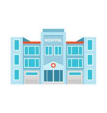 hospital building clipart. Exellent Hospital Hospital Flat Building Icon Vector  With Building Clipart A
