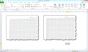 Make Graph Paper In Excel Free Template Medium Size Xy Cartesian