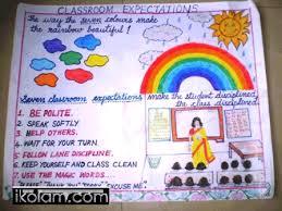 Chart Paper Border Decoration Ideas For Diwali