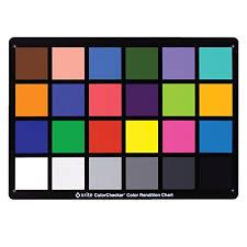 X Rite Colorchecker Classic Color Rendition Chart