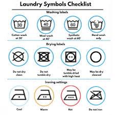 Washing Symbols Explained