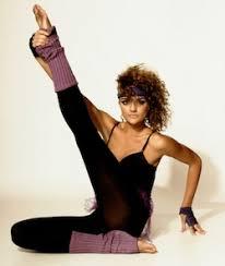 to do 80s night hot vinyasa yoga at