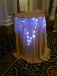 diy under table lighting for weddings feathers centerpieces images weddi on diy wedding lighting ideas party