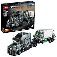 Amazon Com Lego Technic Mack Anthem 42078 Semi Truck Building Kit