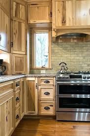 hickory kitchen cabinets pictures hickory kitchen rustic hickory kitchen 3 hickory kitchen cabinets with black island