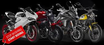 special offers from ducati ride out