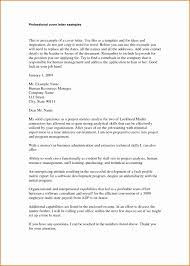 4 Professional Letter Example Besttemplates