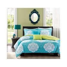 blue bedroom sets for girls. Aqua Blue Lime Green Floral Damask Print Comforter Bedding Set Girls Teen Blue Bedroom Sets For Girls