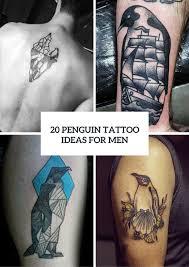 20 Stylish Penguin Tattoo Ideas For Men Styleoholic