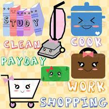 Planner Clipart To Do List Weekly Work Study Cart Cooking