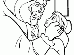 Small Picture beauty and the beast coloring pages gaston PICT 62642 Gianfredanet