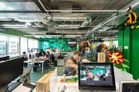 google office desk. Google\u0027s New Office In Dublin #google #interiordesign #design #decorating #Lifestyle # Google Desk