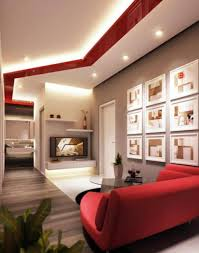 Living Room With Red Sofa Living Room Decorating Ideas Features Ergonomic Seats Furniture