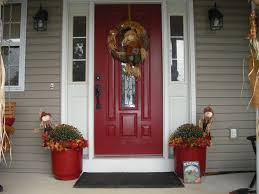 Painting Wood Siding Exterior Soffit Vents Vinyl Red Front Door