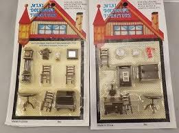 Miniature dollhouse furniture Childrens Of 10 Vintage Miniature Dollhouse Furniture 14 148 Quarter Lot Of Sets Aliexpresscom Vintage Miniature Dollhouse Furniture 14 148 Quarter Lot Of Sets