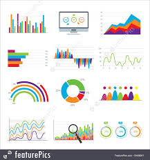 Free Stock Market Charts And Graphs Illustration Of Business Data Market Charts Diagrams And Graphs