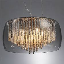 smoked glass shade chandelier be fabulous glass shades for chandelier
