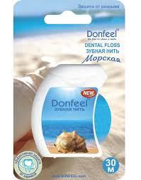 """<b>Зубная нить Donfeel</b> """"<b>Морская</b>"""" UF-628, 30 м — купить в интернет ..."""