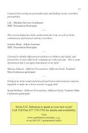communication skills magic e book chapters associatedisc presentation participant 11